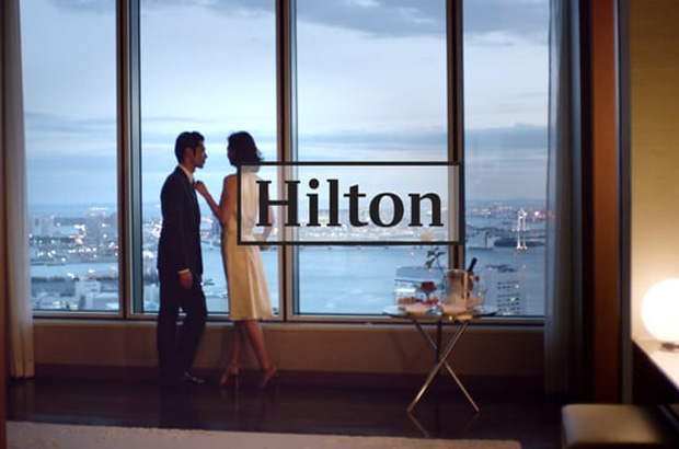 FOLD7 - HILTON HOTELS<br> GILLIAN ANDERSON